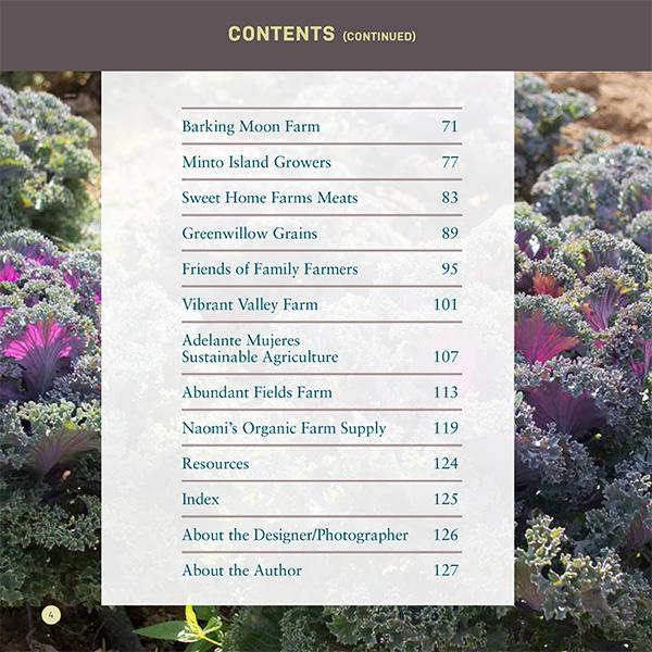 Planting A Future: Contents